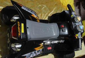 Moto Para Niños De Bateria Recargable