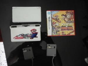 Nintendo Ds Lite Usado Con Carcaza Protectora, Dos Cargadore