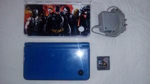 Nintendo Dsi Xl Azul Con R4 Y Memoria De 4gb Negociable