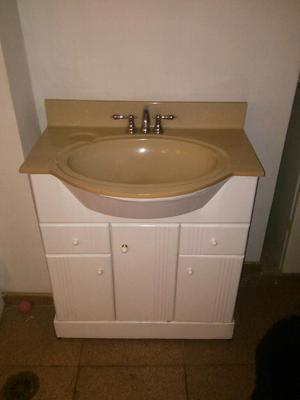Muebles para ba o tipo bajo lavamanos posot class for Oferta mueble bano