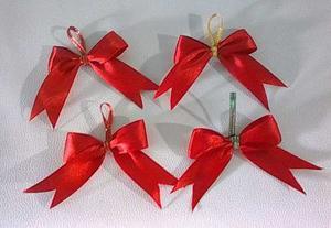 Set lazos decorativos accesorio adorno arbol posot class - Lazos para el arbol de navidad ...