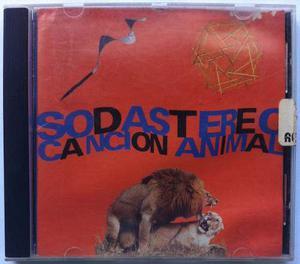 Soda Stereo. Canción Animal. Cd Original, Usado