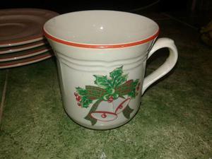 Vendo Vajilla De Navidad