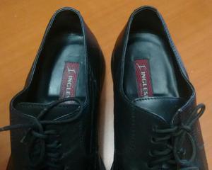 Zapatos de Cuero Italianos, Como Nuevos