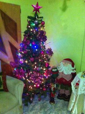 Árbol De Navidad De 2mtrs+adornos