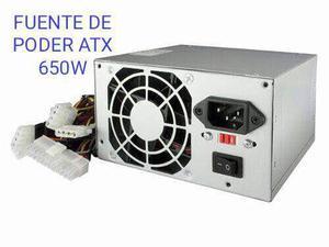 Fuente De Poder Atx 650w