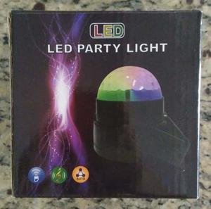 Luz Led De Colores Para Fiestas