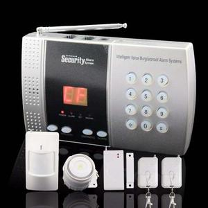 Alarma Linea Fija Sensores Inalambricos Casa U Oficina