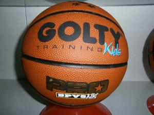 Balon De Basketball Marca Golty Pro Kids De Semi Cuero N* 5