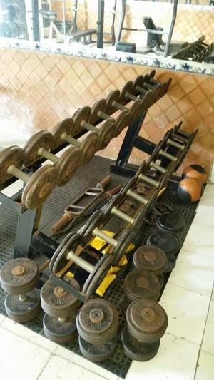 Mancuernas Gym/ Rack de Mancuernas