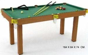 Mesa De Billar Pool Semi-profesional Marca Jeidy Toys Grande