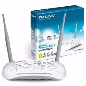 Modem Router Tp-link Td-wn Adslmbps 2 Ant 4 Puert