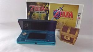 Nintendo 3ds + 6 Zeldas + Super Mario 3d Land + Metroid 2