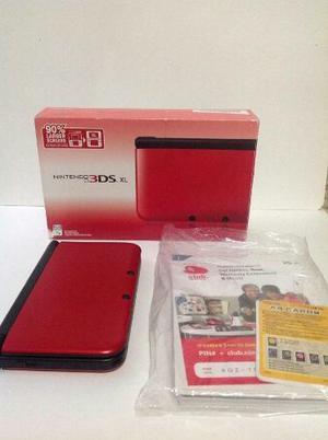 Nintendo 3ds Xl Nuevo, Color Rojo