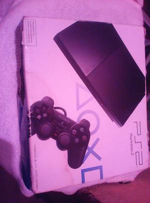 Playstation 2 Como Nuevo (2 Control) Chipiado