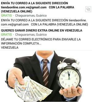 Quiere Ganar Dinero Extra Online en Vzla