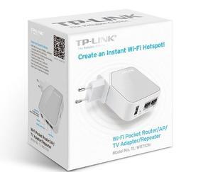 Router Access Point Portatil Tp-link Tl-wr710n Wifi Usb