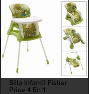 Silla Fisher Price 4 En 1