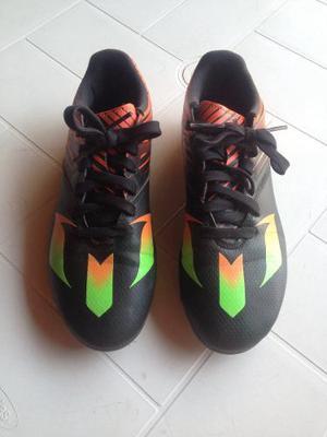Tacos adidas Messi Talla 5 Us