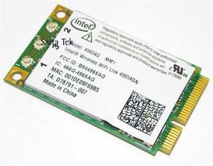 Tarjeta Mini Pci Wifi Intel Dual Banda 300 Mbps