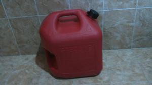 Bidon para Gasolina 4 Galones, 20 Litros