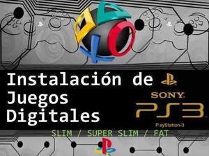 Juegos De Ps3 Play Station3 Por Instalacion Juegos Digitales