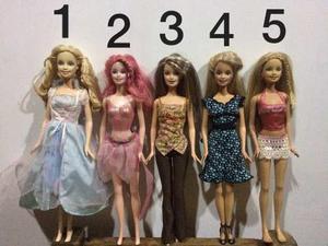 Barbies Originales En Buen Estado