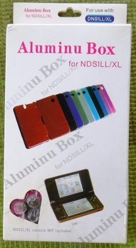 Carcasa Plastica Y Aluminio Protector Para Nintendo Dsi Xl