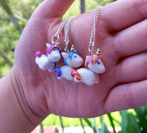 Collar De Unicornio En Masa Flexible