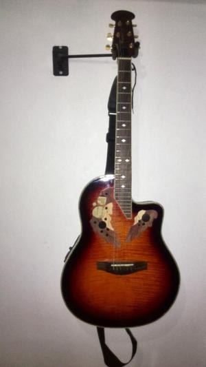 Guitarra Electro Acustica Fretmaster Tipo Ovation