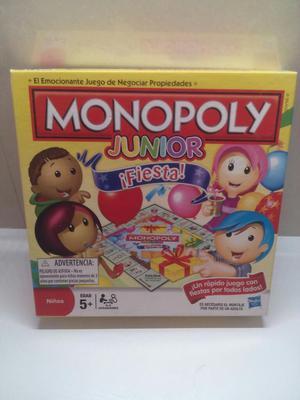 Juego de Mesa Monopoly Junior Hasbro