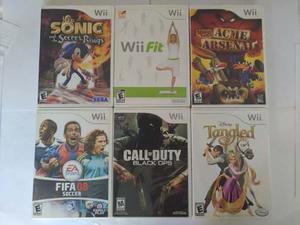 Juegos De Wii Originales En Perfecto Estado