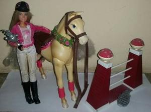 Muñeca Barbie Jinete