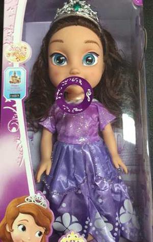 Muñeca Moana Niña Canta 35cm Princesa Juguetes Bebe Grande