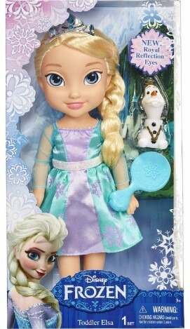Muñeca Princesas Disney Toddler Elsa De Frozen Rapunzel
