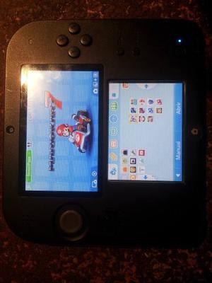 Nintendo 3ds / 2ds Rojo Con Su Factura De Amazon. Chipeado.