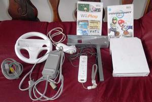 Nintendo Wii Chipeado + 2 Juegos Y Accesorios.