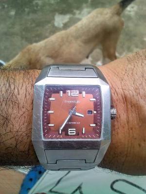 Reloj Para Caballero De Acero Inoxidable Freestyle Capitan