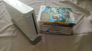 Wii Chipeado + 7 Juegos Originales
