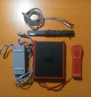 Wii Mini Como Nuevo Con Todos Sus Accesorios Cds Originales