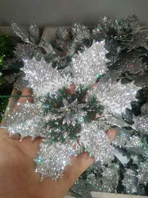 Flores De Navidad Adornos Navidad Arbolito