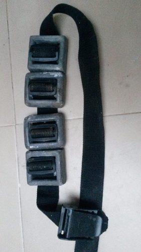 Oferta Lastre Pesas Cinturon Submarinismo Buseo