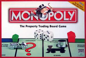 Juego De Mesa Monopolio De Luxe En Ingles Original Oferta