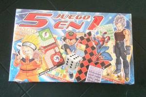 Juegos De Mesa 5 En 1, Monopolyo Y Reto Al Saber