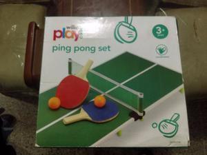 Mesa De Pin Pong Para Niños