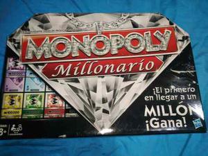 Monopoly Millonario Juego De Mesa (monopolio)