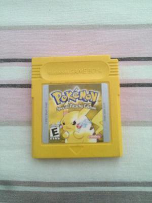 Pokemon Edicion Especial Yellow