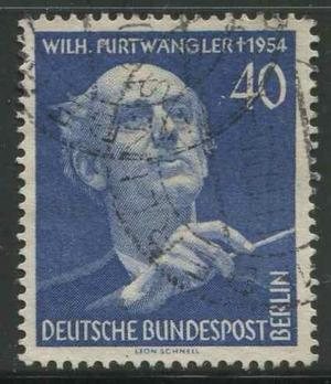 Berlín: W. Furtwagner - Director De Orquesta