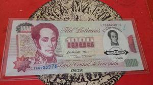 Billete De Mil Bolívares Primera Convencion
