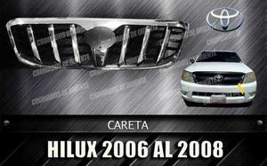 Careta Cromada De Toyota Hilux  Al